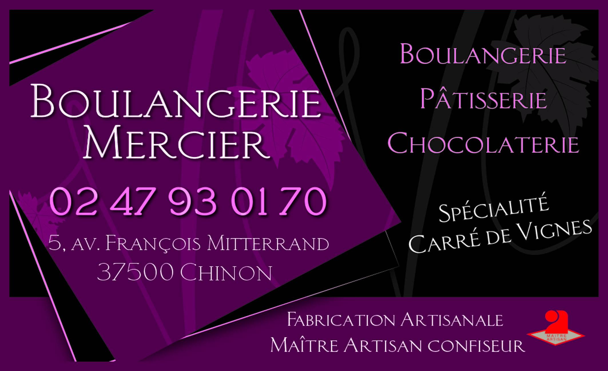 Carte De Visite Mercier