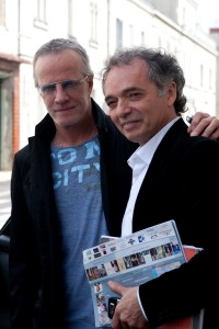 Christophe Lambert et Jean-Maurice Belayche