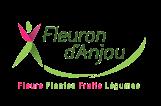Logo Fleuron avec cartouche blanc