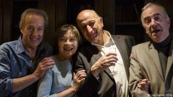 Gérard Klein, Macha Méril, Pierre Bonte, Alain Baraton