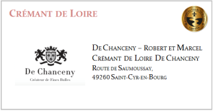 D. CHANCENY - Crémant de Loire Rosé
