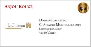 LACHETEAU - Anjou Rouge - Montgueret 2016