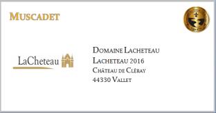 Lacheteau - Muscadet