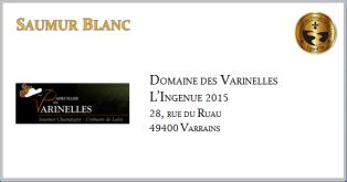 VARINELLES - Saumur Blanc