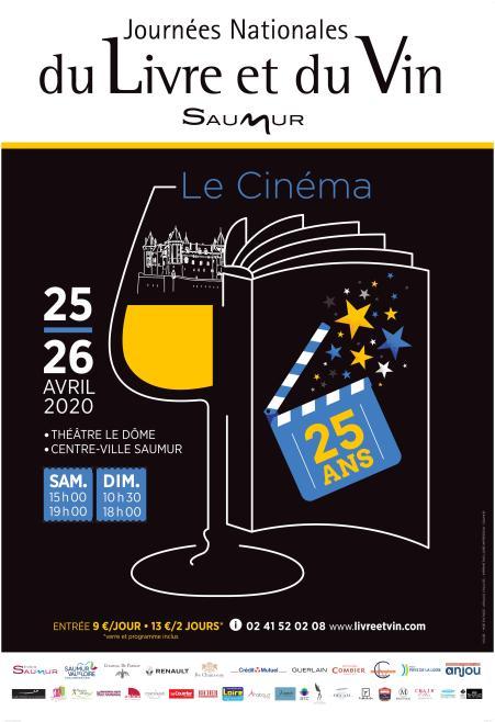 Affiche Livre et Vin 2020